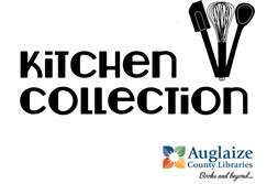 Kitchen Collection text with library logo